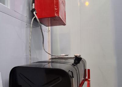 Brûleur et cuve pour cabine de peinture VL