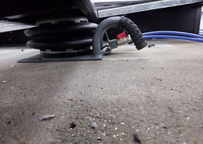 Coussin pneumatique pour rampe