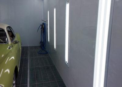 Lampes neons led cabine de peinture VL