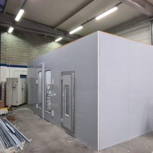 cabine de peinture sur mesure
