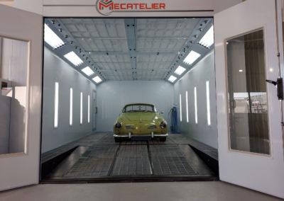 Services Mecatelier - Installation cabine de peinture